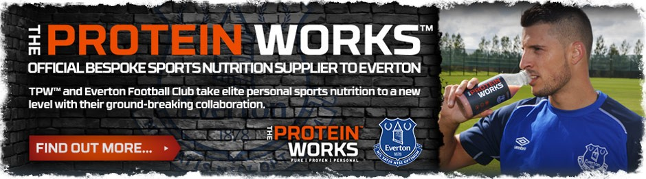 The Protein Works partners with Everton Football Club